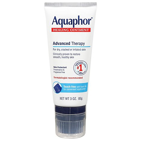 Aquaphor Healing Ointment Advanced Therapy - 3 Oz