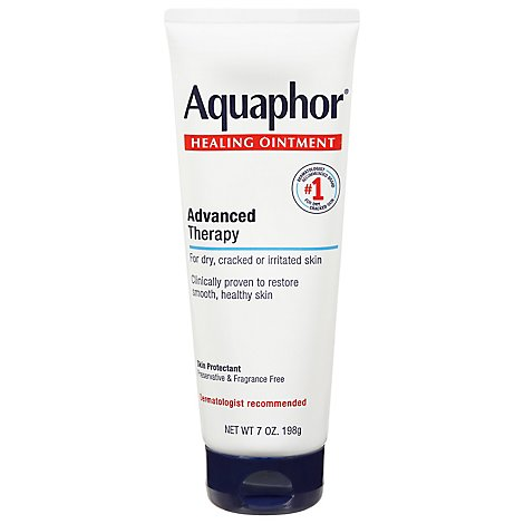Aquaphor Advanced Therapy Healing Ointment Skin Protectant - 7 Oz
