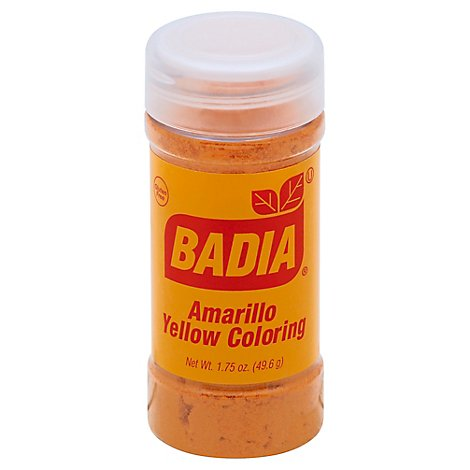 Badia Coloring Amarillo Yellow - 1.75 Oz
