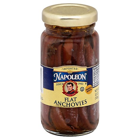 Napoleon Anchovy Fish in Olive Oil - 3.5 Oz
