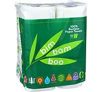 Bim Bam Boo Paper Towels Bag - 4 Roll