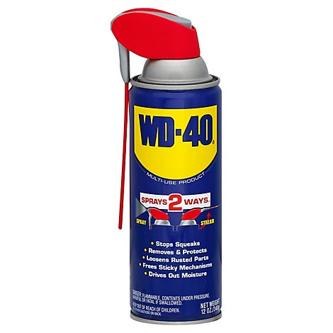 Wd 40 Smart Straw Spray - 12 Oz