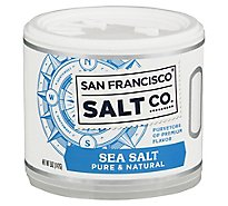 San Francisco Salt Co. Sea Salt Natural Pure - 5 Oz