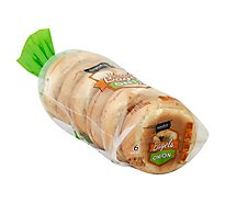 Signature SELECT Bagels Sliced Onion 6 Count - 18 Oz