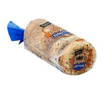 Signature SELECT Bagels Everything 6 Count - 18 Oz