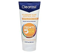 Clearasil Ultra 5in1 Exfoliating Wash - 6.78 Oz