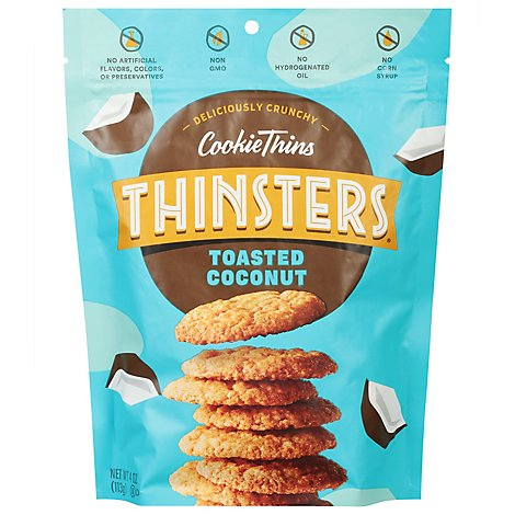 Cookie Thins Toasted Coconut - Each
