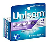 Unisom Sleep Gel Minis - 60 Count