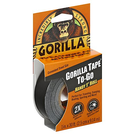 Gorilla Tape To-Go Handy 1 Roll - Each