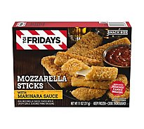 T.G.I. Fridays Frozen Appetizers Mozzarella Stick With Marinara Sauce - 11 Oz
