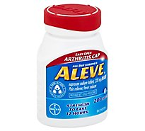 Aleve Naproxen Sodium Tablets 220mg Pain Reliever Fever Reducer Easy Open Cap - 200 Count