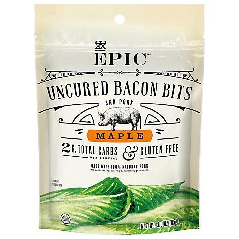 EPIC Bacon Bits Uncured Maple - 3 Oz