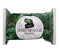 Signature SELECT/Kitchens Broccoli Florets Petite - 16 Oz