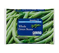 Signature SELECT Beans Green Whole - 16 Oz