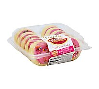 Bakery Cookies Frosted Sugar Pink Simply - Each