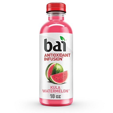 Bai Antioxidant Infusion Water Flavored Kula Watermelon - 18 Fl. Oz.