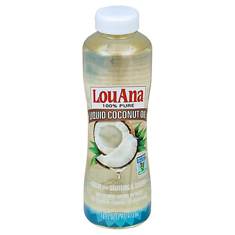 LouAna Coconut Oil Liquid Pure - 16 Fl. Oz.
