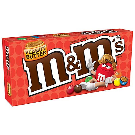 M&Ms Candies Chocolate Peanut Butter Box - 3 Oz