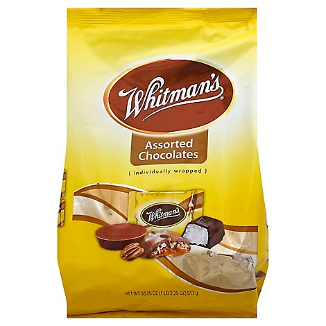 Whitmans Chocolates Assorted Bag - 18.25 Oz