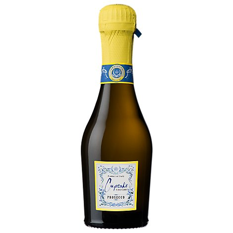 Cupcake Vineyards Wine White Prosecco - 187 Ml