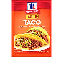 McCormick Seasoning Mix Taco Mild - 1 Oz