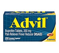 Advil Caplets - 200 Count