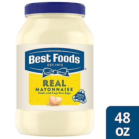 Best Foods Mayonnaise Real Kosher - 48 Oz
