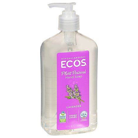 Earth Friendly Soap Hand Liq Lavender - 17 Oz