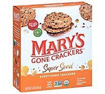 Marys Gone Crackers Super Seed Organic Everything - 5.5 Oz