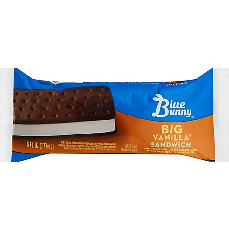 Wells Blue Bunny Vanilla Ice Cream Sandwich - 6 Fl. Oz.