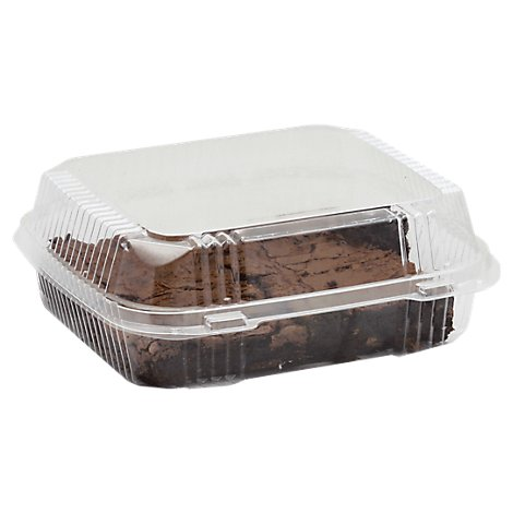 Bakery Brownies Plain 4 Count - Each