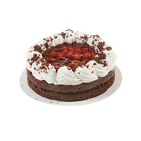 Bakery Cake 8 Inch Black Forest Boston - Each