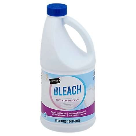 Signature SELECT/Home Bleach HE Fresh Linen Scent - 64 Fl. Oz.