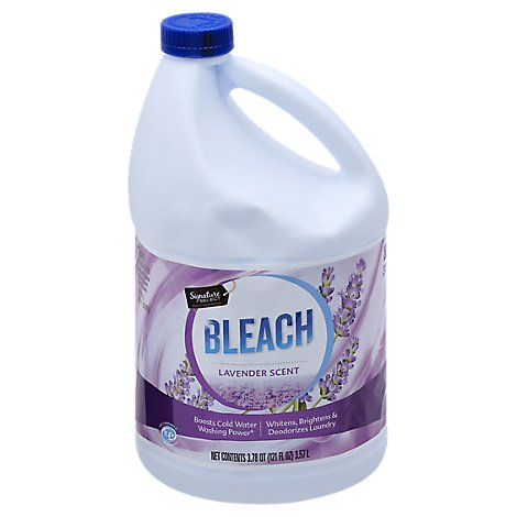 Signature SELECT/Home Bleach HE Fresh Lavender Scent - 121 Fl. Oz.