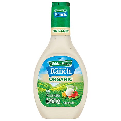 Hidden Valley The Original Ranch Dressing Organic - 16 Fl. Oz.