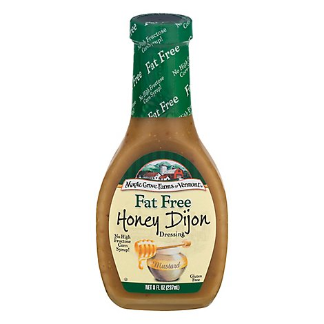 Maple Grove Farms Dressing Fat Free Honey Dijon - 8 Fl. Oz.