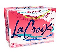 LaCroix Sparkling Water Passion Fruit Cans - 12-12 Fl. Oz.