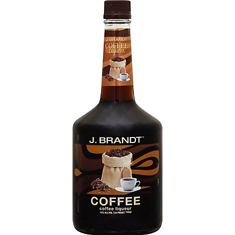 J Brandt Liqueur Coffee 30 Proof - 750 Ml