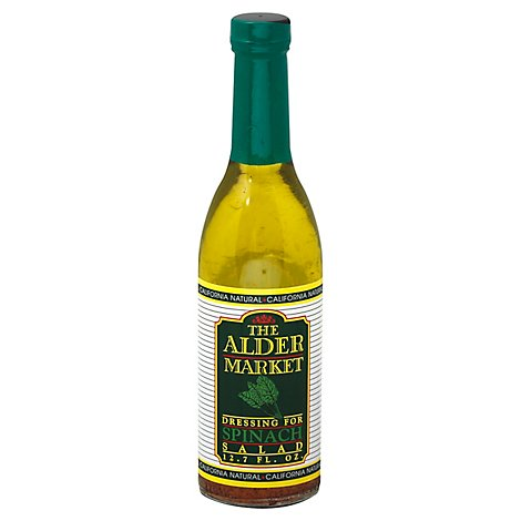 The Alder Market Dressing Spinach - 12 Fl. Oz.
