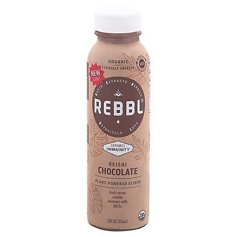 Rebbl Reishi Chocolate - 12 Fl. Oz.
