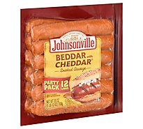 Johnsonville Sausage Smoked Beddar With Cheddar 12 Links - 28 Oz