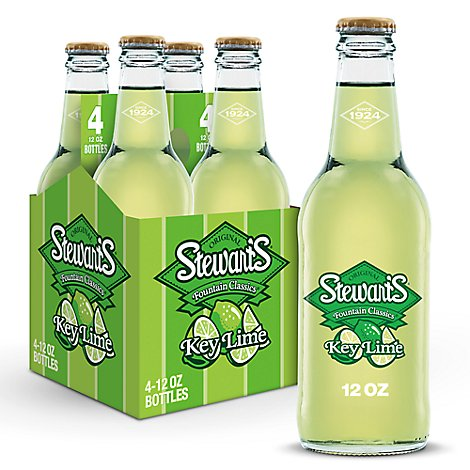 Stewarts Key Lime - 4-12 Fl. Oz.