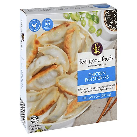 Feel Good Foods Potstickers Chicken - 10 Oz
