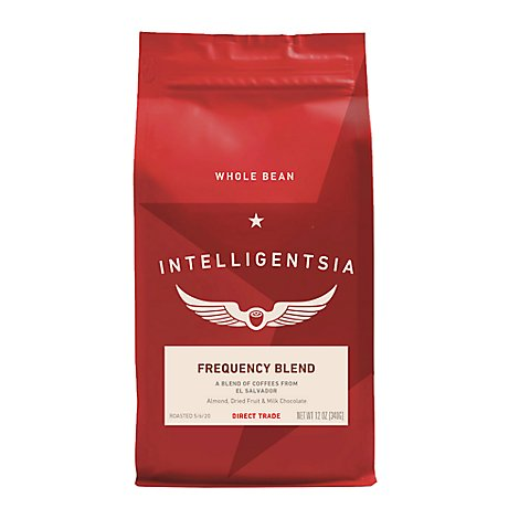 INTELLIGENTSIA Coffee Direct Trade Fresh Roasted Frequency Blend - 12 Oz