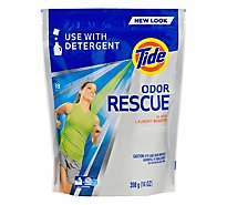 Tide Laundry Booster In Wash with Febreze Odor Defense Pouch 18 Count - 14 Oz