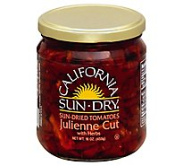 California Sun Dry Tomatoes Julienne In Oil - 16 Oz