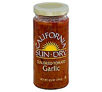 California Sun Dry Garlic With Sun Dried Tomatoes - 8.5 Oz