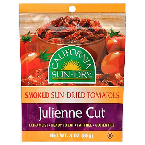 Ca Sun Dry Tomatoes Smoked Julienne - 3 Oz