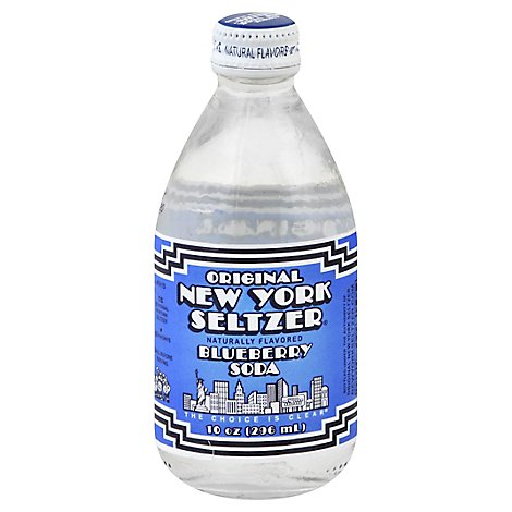 Original New York Seltzer Blueberry - 10 Fl. Oz.