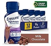 Ensure High Protein Nutrition Shake Ready-to-Drink - Milk Chocolate - 12 - 8 fl oz